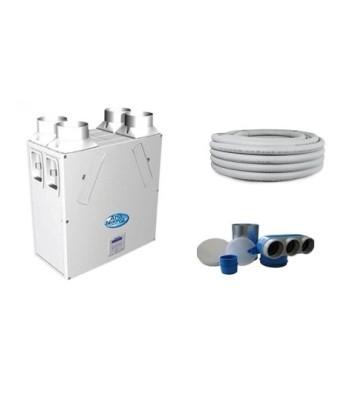 Kit VMC 250 mc/h oltre 90% di rendimento