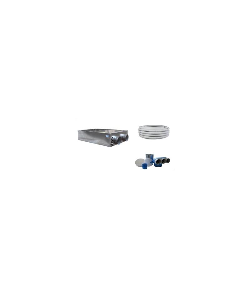 Kit VMC 200 mc/h oltre 80% di rendimento
