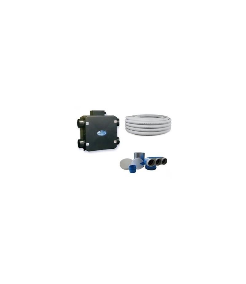 Kit VMC 180 mc/h fino al 70% di rendimento