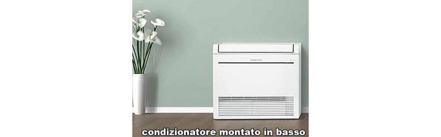 Climatizzatori e condizionatori mono split inverter a pavimento