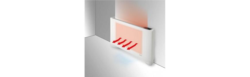 Fancoils, ventilconvettori e termoconvettori da pavimento, parete o soffitto