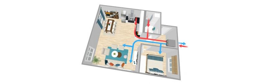 VMC: soluzioni per la ventilazione meccanica controllata