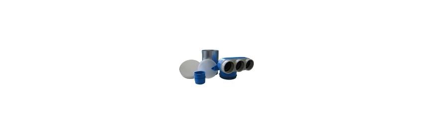 Accessori per scambiatori d'aria canalizzabili