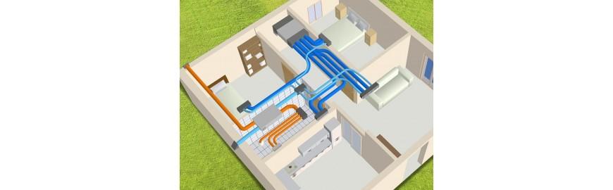 Kit VMC canalizzabili per la ventilazione controllata